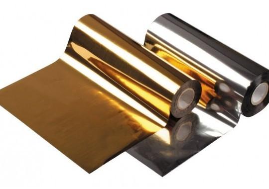 Zlatá páska na potlač stúh 88mm x 100m
