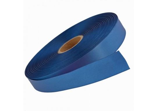 Saténová stuha Steel Blue v návine 100m pre termotransférovú tlač