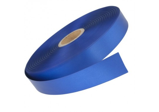Saténová stuha Royal Blue v návine 100m pre termotransférovú tlač