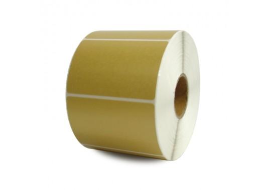 Etikety na kotúči 25x50 mm (VxŠ), zlaté, 4000 ks, 40, IN