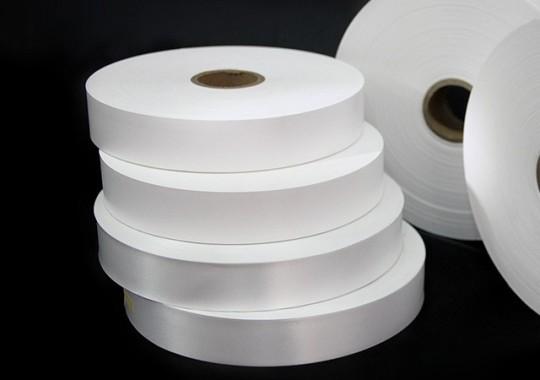 Stuha 80x200m nylon biely