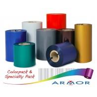 Armor TTR páska 73x300m oranžová OUT vosk/živica