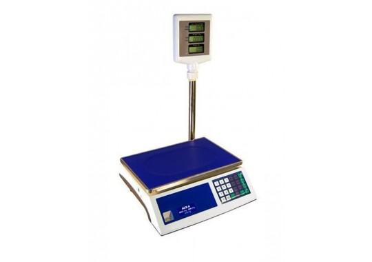 ACS-A digitálna váha 6/15kg, so stĺpikom, RS232 , s overením