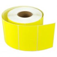 Etikety na kotúči 30x50 mm (VxŠ), žlté plastové, 1400 ks, 40, IN