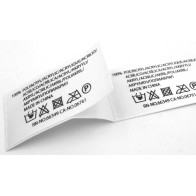 Samolepiaci nylón 30x45mm (VxŠ), 1000ks, biely pre termotransférovú tlač
