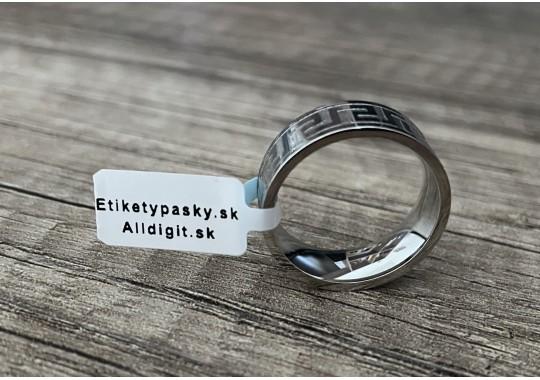Etikety na šperky 10x64 mm (VxŠ), plastové, 3500 ks, 40, OUT